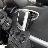 KUDA Navigationskonsole (LHD) für: Navi Renault Clio III ab 10/05 & 10/09/Echtleder schwarz