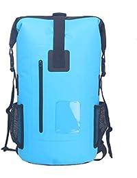 SINOTOP Dry Bag - wasserdichter Packsack 30L - Wasserfester Rucksack - Leicht, faltbar f¨¹r Wandern, Ski, Reisen, Kajak, Rafting,Schule,Segeln