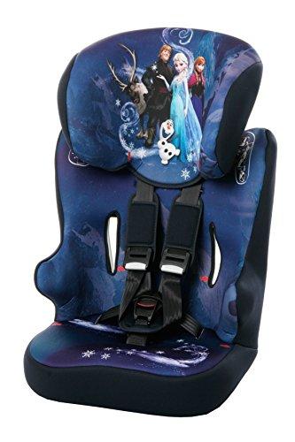 Preisvergleich Produktbild Osann Kinderautositz Racer SP Disney Frozen blau, 9 bis 36 kg, ECE Gruppe 1 / 2 / 3, von ca. 9 Monate bis 12 Jahre, mitwachsende Kopfstütze