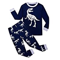 Garsumiss Kids Dinosaur Pyjamas Sets Children Clothes Set Boys Cotton Nightwear Toddler Pjs Sleepwear 1-8 Years