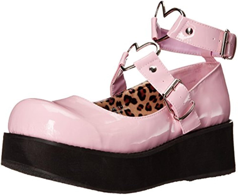 Demonia Sprite-02, Zapatos de Tacón con Punta Cerrada para Mujer