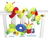 Baby Grow Baby Plush Animal Rattle Mobile Toys Happy Monkey Infant Bed Stroller