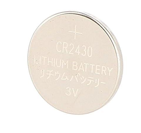 NUM'AXES Pile Lithium 3 V Cr 2430 pour Chien