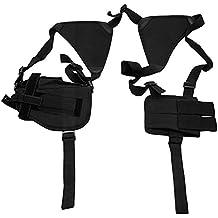 pistolera swat negro para pistola de aire suave soporte 2 cargador universales
