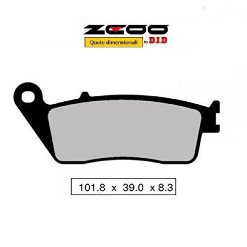 45N00700 PASTIGLIE FRENO ZCOO (N007 EX) KAWASAKI Z 750 - Z 750 S - ABS 2007-2012 (ANTERIORE)