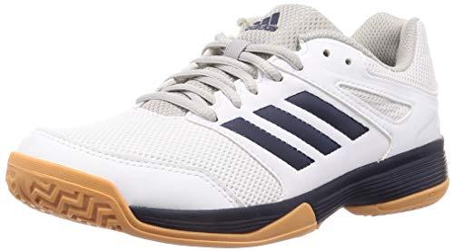 adidas Herren Performance Speedcourt EF2623 Volleyballschuhe, Weiß (White), 43 1/3 EU - Adidas Volleyball Schuhe