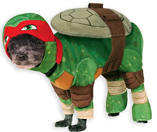 Hundekostüm, Raphael, Teenage Mutant Ninja Turtles - Größe S ()
