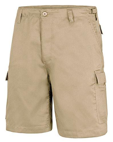 BlackSnake® US Army Ranger Shorts BDU Cargo kurze Hose in verschiedenen Farben Beige XXL (Army-cargo-shorts)