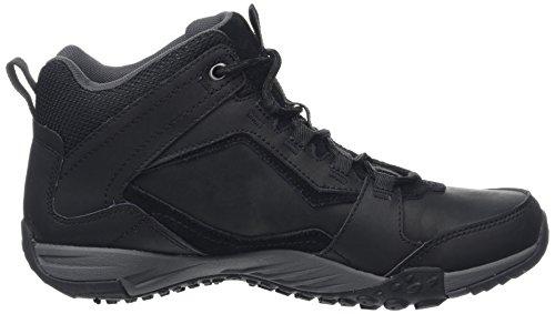Merrell Helixer Scape Mid, Chaussures de Randonnée Hautes Homme Noir (Black)