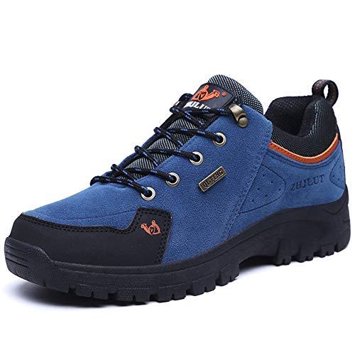 PU-Frühlings-Fall-Komfort-Athletische Schuhe Der Männer Schuh-Laufende Schuhe Schnüren Sich Oben Für Athletische Wandernde/Kletternde Im Freienschuhe,Blue,41