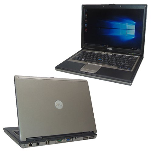 Dell Latitude D630 Refurbished Laptop Windows 10 Dual Core Warranty (4GB Ram, 1TB HDD, MS Office Pro 2013)