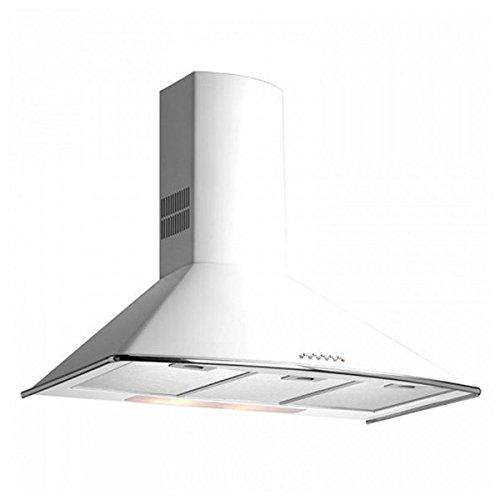 Teka - Campana decorativa pared dm975w blanco clase de eficiencia energetica a
