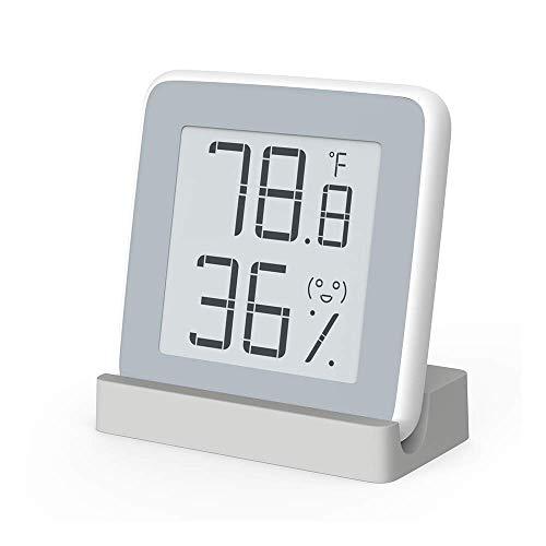 Homidy Hygrometer digital innen Thermo Hygrometer mit Schweizer hochpräzise Sensirion Digitalsensoren,2018 reddot Award Winner,Thermometer innen für Innenraum -
