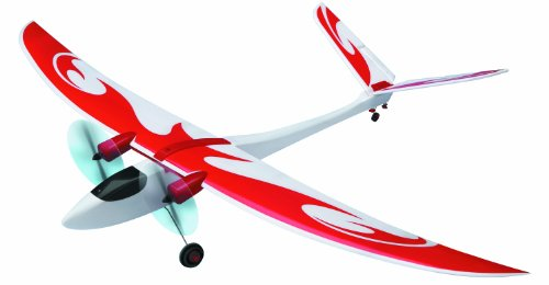 Flying-Gadgets-Radio-Controlled-RC-Electric-Ready-to-Fly-Super-Eagle-Aeroplane-Glider-with-50-Meter-Range-Red-White