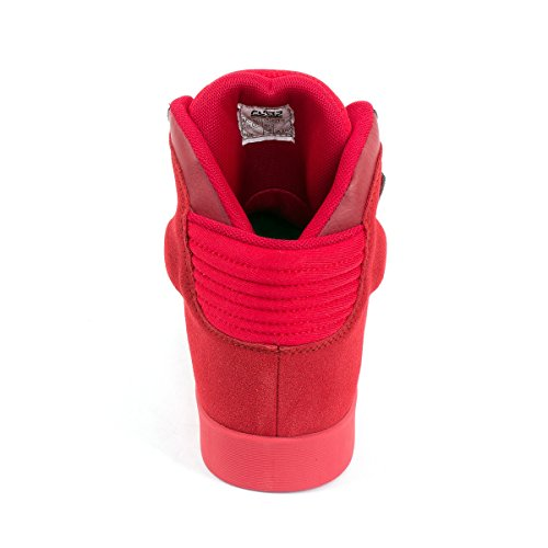 Johnny CHICOS – Space Sneaker High Rouge - Rouge