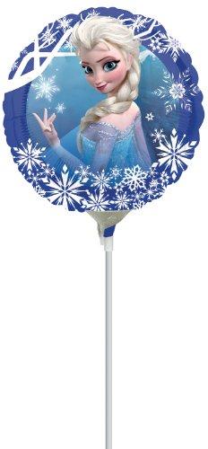 Generique - Petit Ballon Aluminium La Reine des Neiges 23 cm