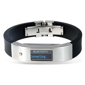 LM Technologies Bracelet vibrant avec écran OLED affichant l'identité du numéro entrant Modèle Sport