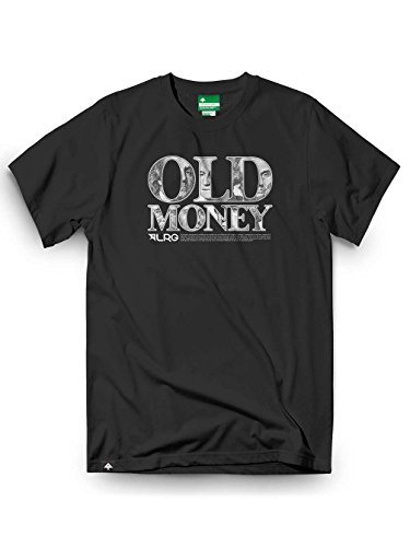 LRG Old Money T-Shirt Black Größe: XL, XL Nero - nero