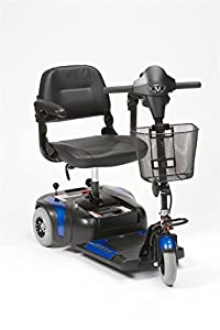 Drive Prism 3 Mini Class 2 Portable 3 Wheel Mobility Scooter - Electric Blue