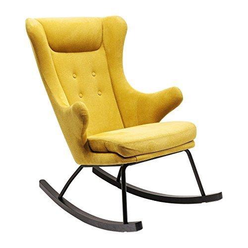 Kare Schaukelsessel Fjord, 82732, farbenfroher Sessel mit Funktion, Fernsehsessel zum wippen (HxBxT)...