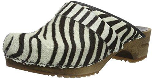 Sanita Caroline Ladies Zoccoli Multicolore (zebra 88)