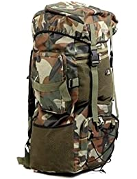 Eenigar 70+5Ltr Bag Backpacking Backpack For Outdoor Hiking Trekking Camping Rucksack