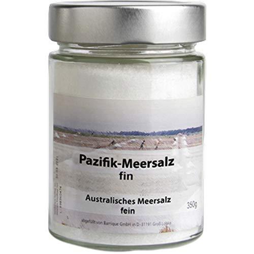Meersalz Pazifik Australien vegan BARRIQUE-Feine Manufaktur Pazifik Australien 380g-Glas