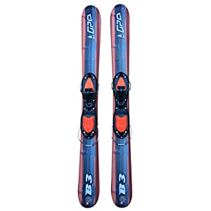 GPO Snowblade B3 | Kurz-Ski inkl. GC-001-Bindung | 99 cm Länge | Big-Foot-Ski für Herren und Damen