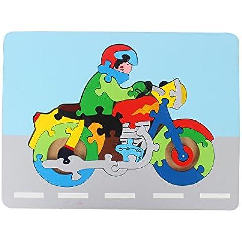 Colorato puzzle di legno di puzzle educativo