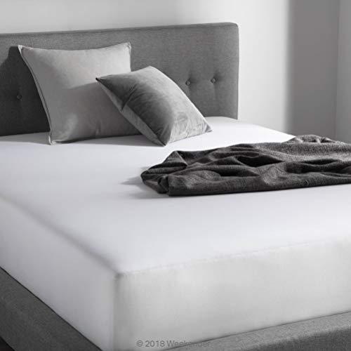 WEEKENDER WK02FXWH64FLHS Bettlaken für Hotels, Fadenzahl 200 Tailliert California King Fitted
