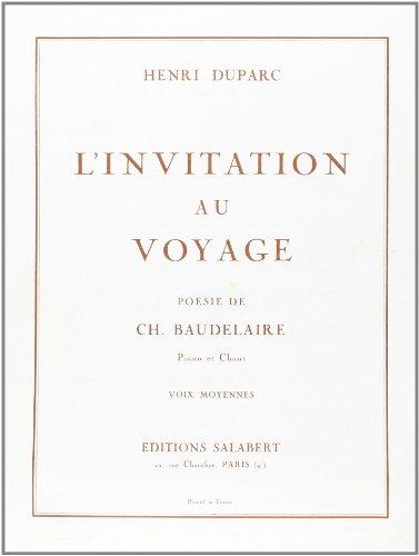 Invitation au voyage No1 - Mez/Po par Duparc H