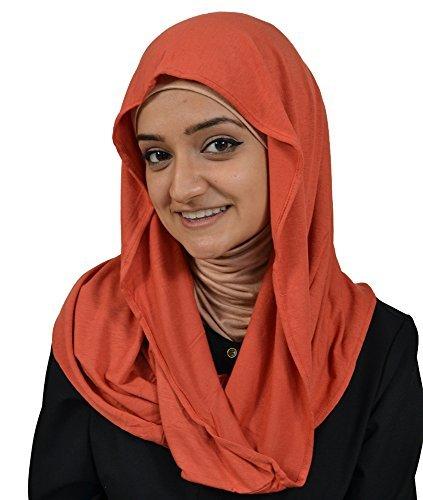 Hijab-ista - Fichu - Femme Marron - Rouille