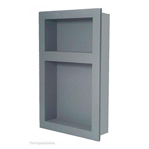 Desconocido Preformados Doble Ducha empotrable nicho 14x 21–Listo para azulejo y Resistente...