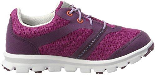 Viking - Maverick Gtx, Scarpe sportive outdoor Unisex – Bambini Pink (Plum/Dark Pink)
