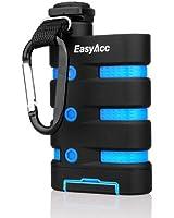 EasyAcc 9000mAh Externer Akku Wasserdichte Staubdichte und Stoßfeste Outdoor Powerbank mit Kompass für iPhone, Samsung, Smartphones, Tablets
