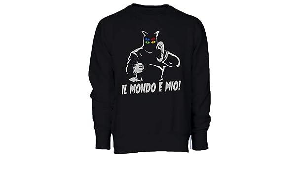 T-Shirt Il Mondo /È Mio Fantaman Dottor Zero Cartoni Anni 80-Anime /& Videogames