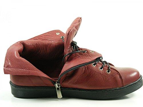 Andrea Conti Damen Sneaker High Top 0341500-032 Rot