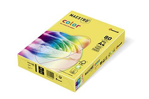 Mondi Fotokopierer und Multifunktionsgerät A4 Gr. 80, gelb