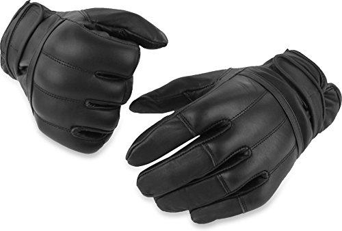 normani 1 Paar Polizei Quarzsandhandschuhe Einsatzhandschuhe aus echtem Rindsleder [XS-5XL] Größe XXL