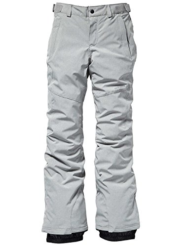 O'Neill Mädchen Kinder Snowboard Hose Charm Slim Pants Girls, Silver Melee, 164 - Slim Snowboard