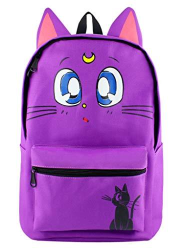 Cosstars Sailor Moon Anime Süße Ohren Studenten Schultasche Rucksack Backpack Büchertasche Jungen - Mädchen Süße Sailor Kostüm