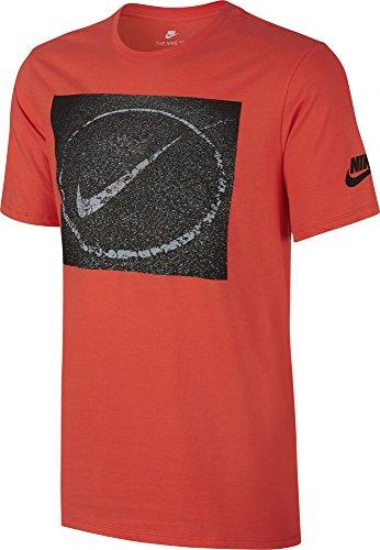 Nike M NSW Tee Asphalt photo T-shirt à manches courtes, Homme naranja (max orange)