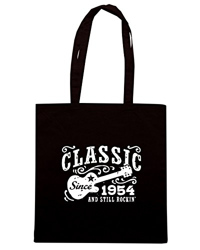 T-Shirtshock - Borsa Shopping OLDENG00445 classic since 1954 Nero