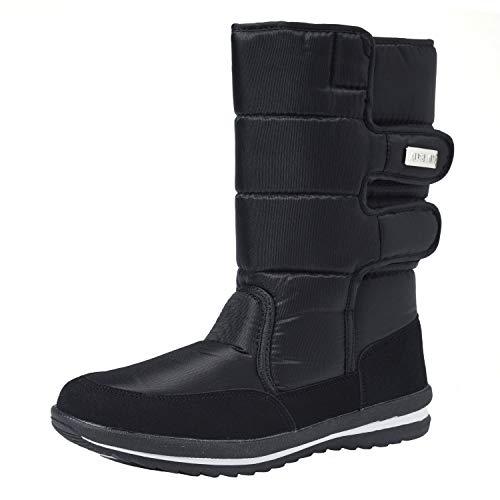 Shenji Scarpe Donna Invernali - Stivali da Neve H1037 Nero 39