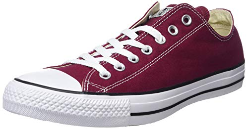 2aafbf17c15 Converse Chuck Taylor All Star, Sneakers Unisex - Adulto, Rosso (Bordeaux),