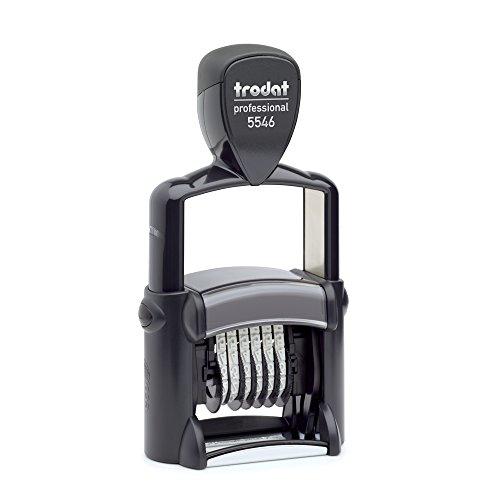 Trodat - Timbro autoinchiostrante per numerazione automatica, 4 mm