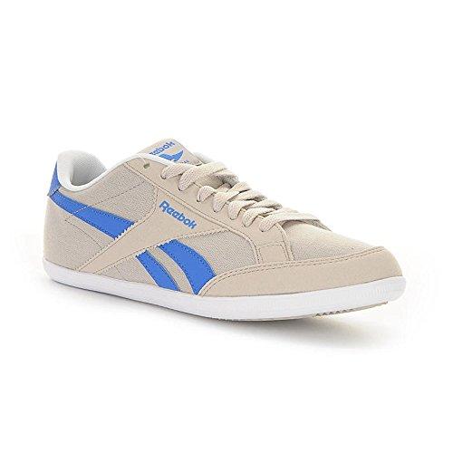 Reebok Royal Transport Tx, Chaussures de Sport Homme Beige / bleu / blanc (grès / bleu sport / blanc)