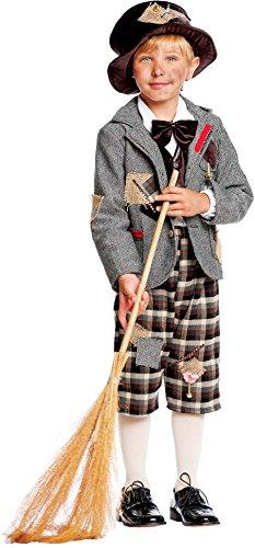 Carnevale Venizano CAV50562-6 - Kinderkostüm SPAZZACAMINO BABY - Alter: 1-6 Jahre - Größe: 6 (Mary Poppins Kostüm Weiß)