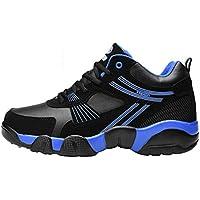 HUALQ D0767 Invierno Pareja Ocasional Zapatillas Antideslizantes Amortiguadores De Los Hombres De Algodón Cálido Zapatos Zapatillas De Deporte
