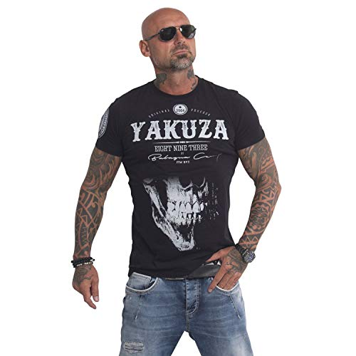 Yakuza Original Herren Daily Skull T-Shirt, Farbe schwarz, Size 2XL